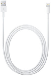 Кабель Apple Lightning to USB 1 м (белый) [MD818ZM/A]