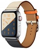 Часы Apple Watch Herm?s Series 4 GPS + Cellular 44mm Stainless Steel Case with Leather Single Tour